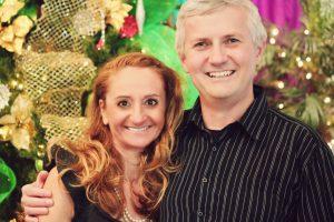 Peter and Lorenza, December 2011