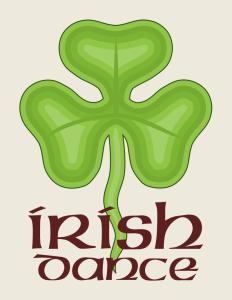 Irish Dance (Shamrock image from http://commons.wikimedia.org/wiki/File:Shamrock_of_Ireland_(Heraldry).svg)