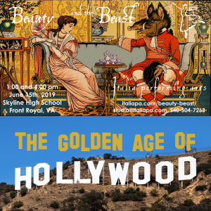 Beauty and the Beast and The Golden Age of Hollywood